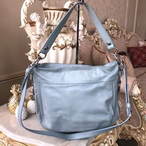 • COACH BABYBLUE CROSSBODY •